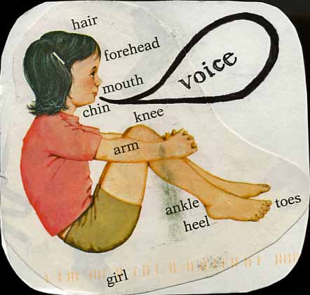 VOICE…IN WRITING AND POETRY- from postsecret.com